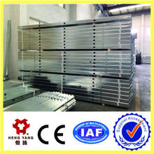 galvanized steel profiles for gypsum board wall partition