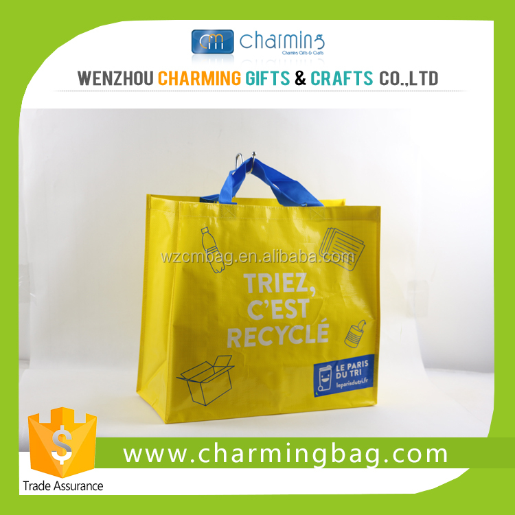 Recyclable Laminated Woven Shopping Bag