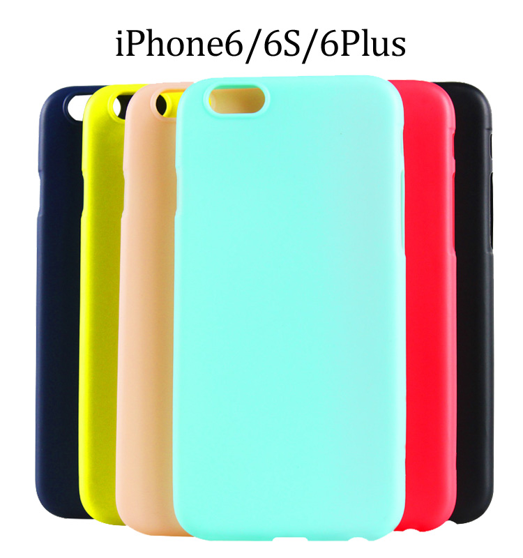 New TPU phone case Cell Case For Iphone, muti-color Cell Phone Case