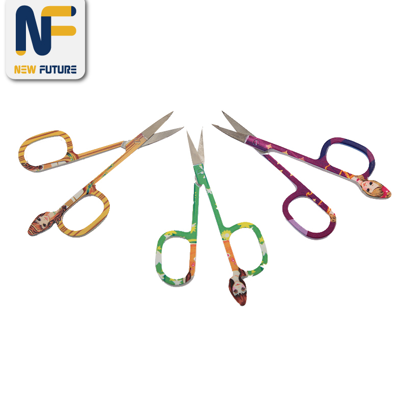Manicure Scissors Eyebrow Tweezer Scissors Nail