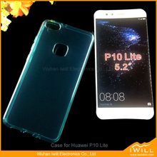 European market Crystal Clear TPU Cover Case For Huawei P10 Lite Gel Case