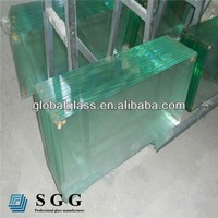 Highly density 10mm toughened glass for sale
