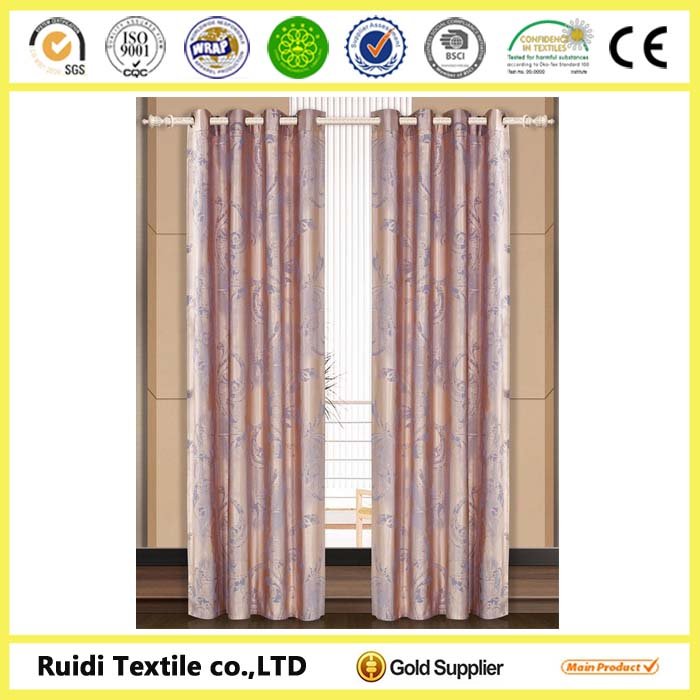 100% Polyester Window Ready-made Curtain for Hometextile