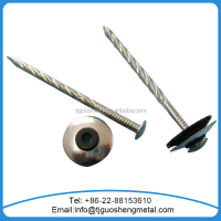 galvanized roofing screw nail with washer/Assembled roofing nail