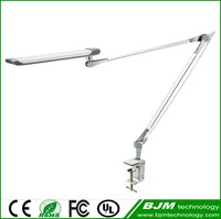 Beautiful Design Metal Adjustable Touch Dimmable Clamp Led Desk Lamp,magnifying lamp led