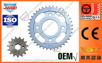 China Wholesale Motorcycle Chain Sprocket Set for Wheel Parts for Honda CG125
