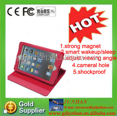 Fashion 360 Degree Rotation Cover Case For iPad 123