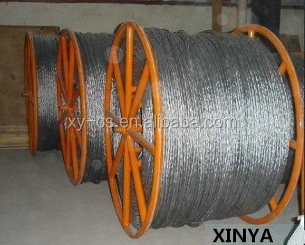 Woven Steel Non Rotating Wire Rope Galvanized Anti Twist Wire Rope
