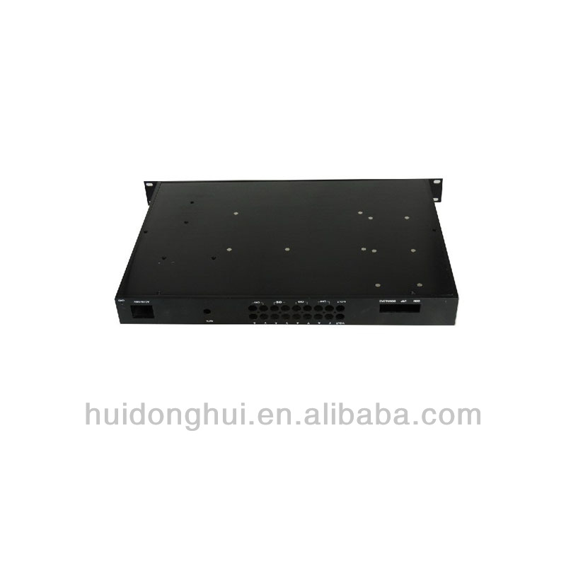 aluminum 1U amplifier PC itx chassis case OEM/ODM