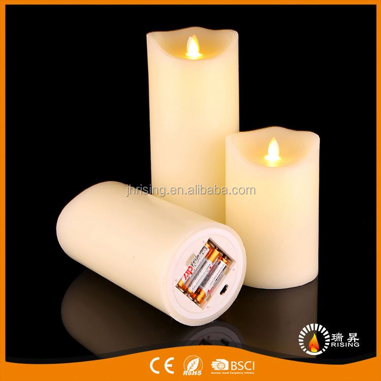 Personalized high-end cream-coloured household candle wax