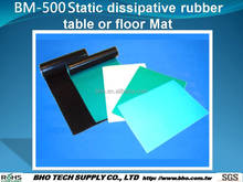 BM-500 Static dissipative rubber esd table mat