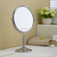 360 degree rotate double sides shaving mirror ,makeup mirror for beauty salon