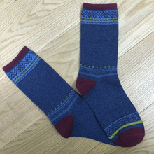 Haining GS new classic style 100% organic cotton socks,cotton seamless socks,woman sock