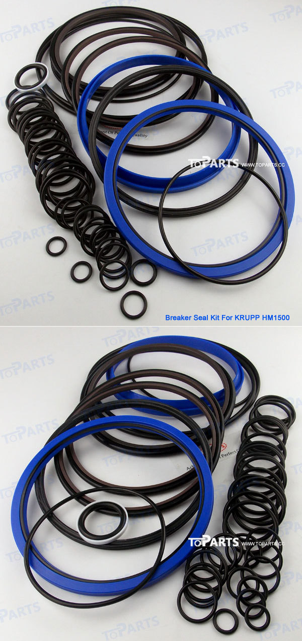 KRUPP HM1500 Hydraulic Breaker Seal kit For Hydraulic Hammer Seal Kit KRUPP HM1500 repair kit
