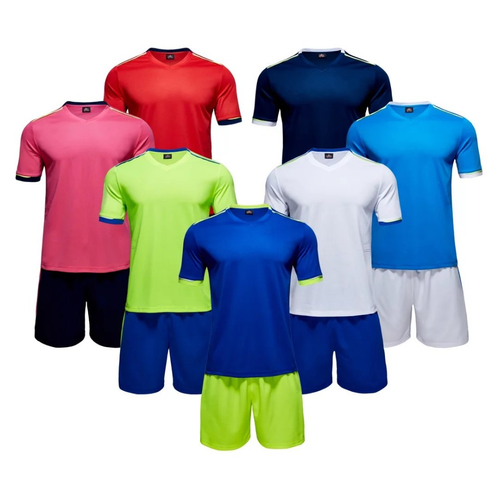 Custom sublimated print logo soccer jersey at factory price