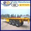 3 Axle 40ft Flatbed Semi Trailer