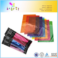 colorful cellophane sheet ,gold/silver cellophane