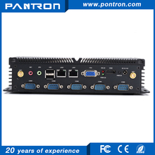 Fanless embedded box PC with dual lan/ RS-232/ vga/HDMI