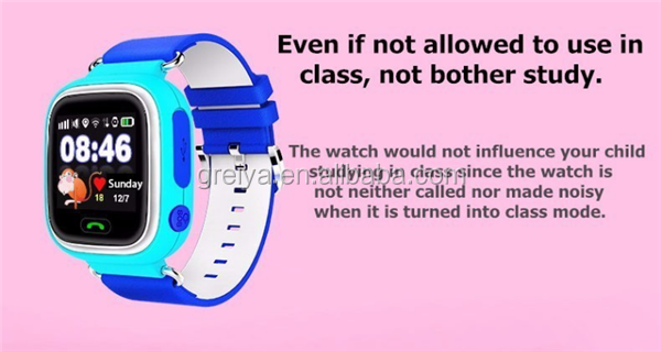 led screen bluetooth Christmas gifts waterproof IP68 support Android/ios kids gps smart watch