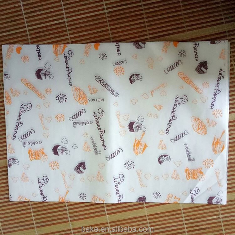 China sale OEM quality exquisite greaseproof paper