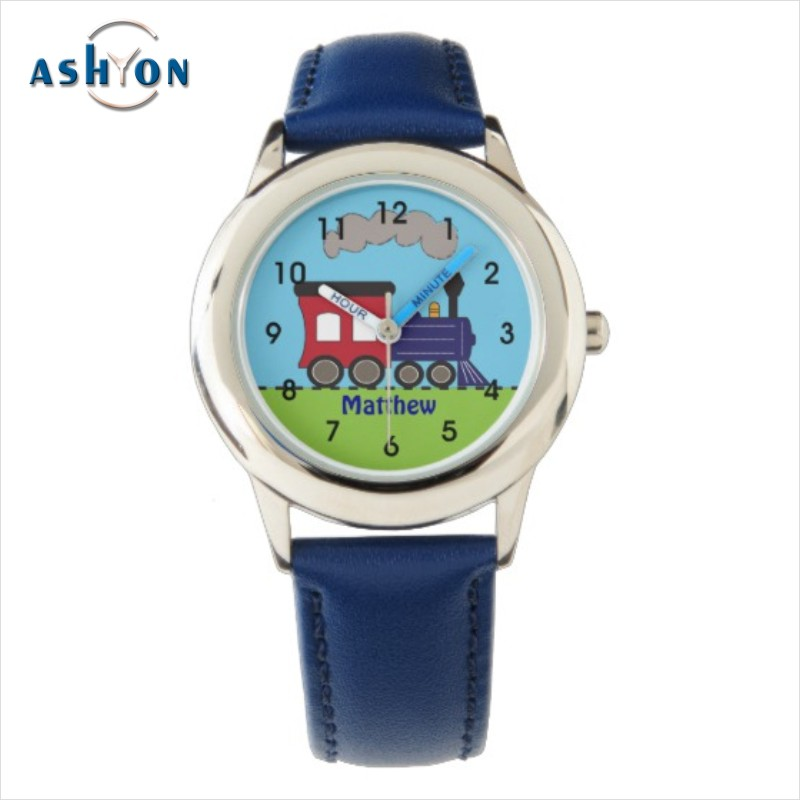 Kids Watches Waterproof Watch Case Press Mini Watch