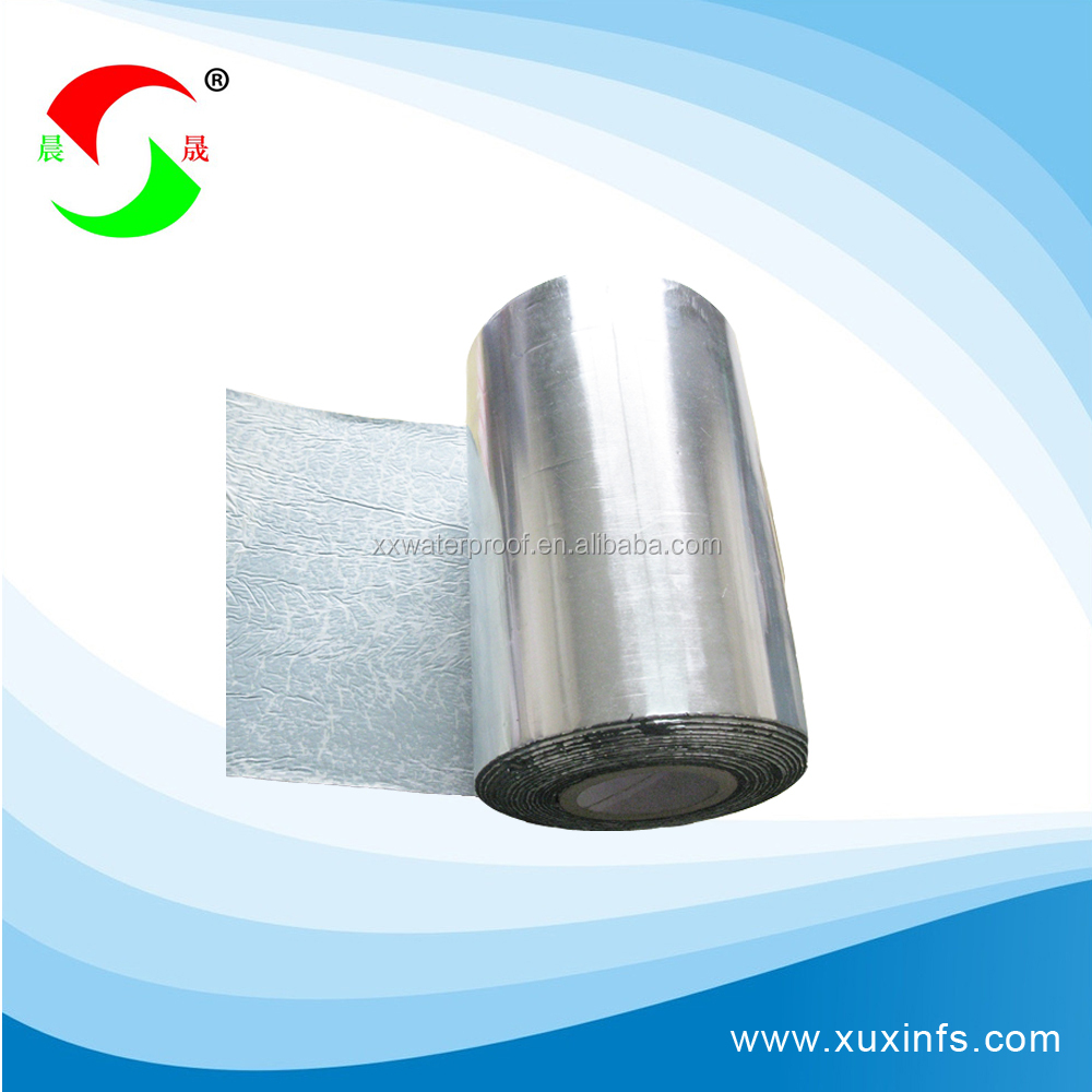 Self adhesive SBS APP modified bitumen waterproof tape with high quality