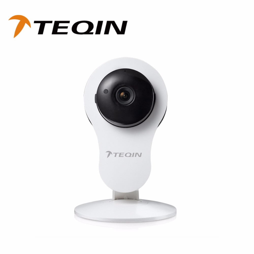 TEQIN Best Safe Security 1MP WiFi P2p Wireless IP Camera and Easy To Install P2p Ip Camera by CE FCC RoHs