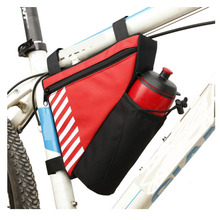 Electric bike battery travel bag red bike front tube bag for cycling