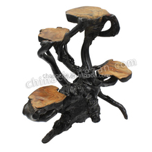 Decorative Unqiue Factory Direct and Small Wooden Flower Stand