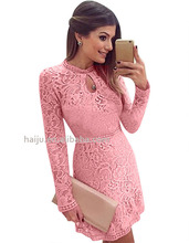 New style long sleeve women casual lace ebay tight prom dress