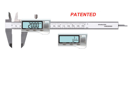 "0-150mm/6"" 0.01mm/0.0005"" Resolution 0.03mm Accuracy METAL HOUSING ELECTRONIC DIGITAL CALIPER"