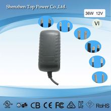 doe level vi 12v 3a adapterce ul approved 12v 3a wall-mount type adaptercctv universal 12v 3a power adapter