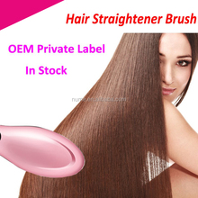 Hair straightening brush electric hot comb with low price
