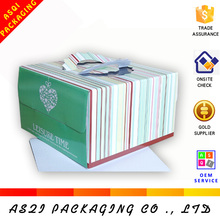 Yiwu supplier custom printed cheap cake box with cake base