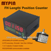 Digital Length/Position Measuring Counter FH8-6CRNB with Incremental Rotary Encoder
