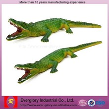 OEM factory custom crocodile toys figures, chinese toy manufacturers