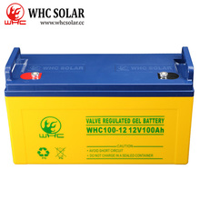 12V 100Ah Lead Acid AGM Deep Cycle Solar Battery