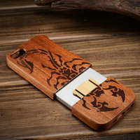 wood cover for iphone5 customized phone case for iphone 5