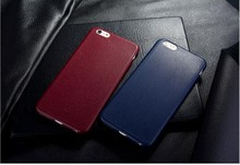 Luxury Ultrathin Leather Soft Gel TPU Back Case Cover for iphone ,leather back case for iphone