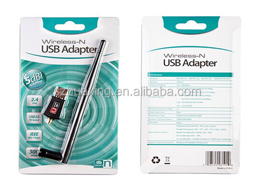 300Mbps Wlan USB Adapter/Wlan Wifi/ network Wlan