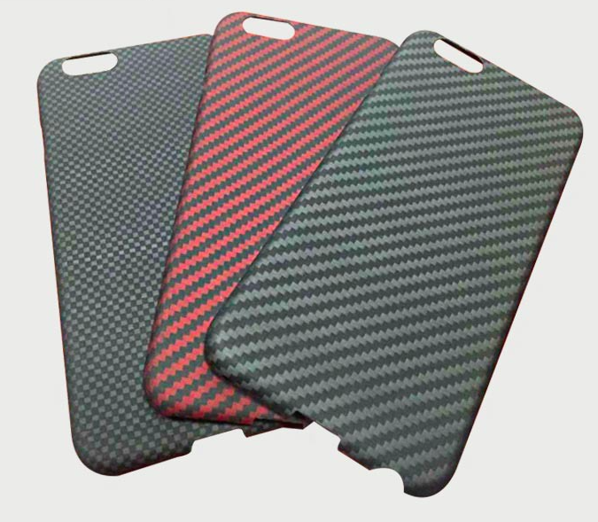 fashionable best quality Carbon fiber case for iphone 6 plus