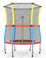 Outdoor Equipment With Mini Round Trampoline