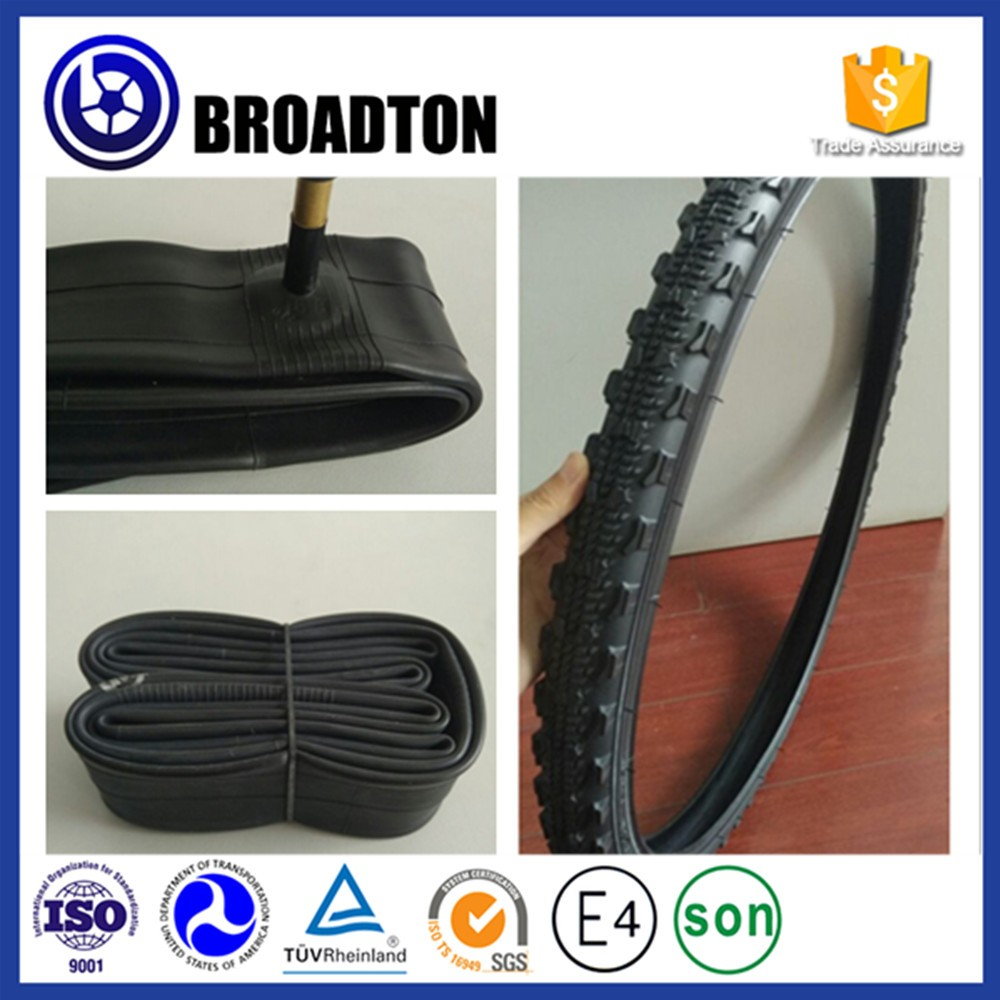 China cheapest rubber bicycle inner tube 22*1.95