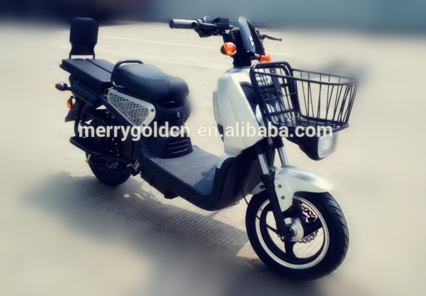 Chinese cheap 2kw dual electric cargo scooter for adult