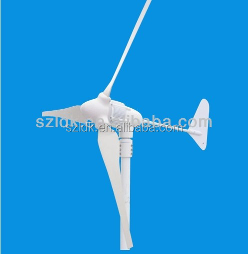 400W wind turbine with 3 or 5 blades