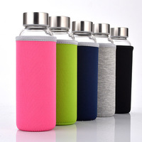 500ml Hot Selling Glass Water Bottle