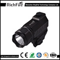 Tactical pistol led torch mounted rechargeable led strong light flashlight