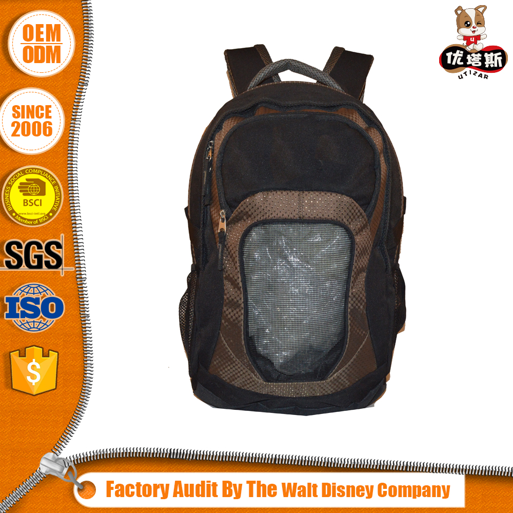 Top Class Cheap High-Grade Backpack Bag Vintage with OEM and Custom Design Logo