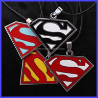 Euramerican Style The Avengers Series Moives Jewelry Superman Logo Keychain Superman Batman Key Ring