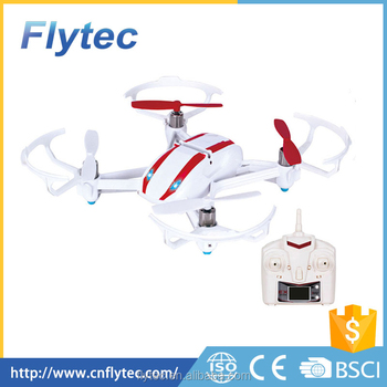 Flytec Helicute 4CH RC Helicopter Remote Control Camera Flying H808 H808C Drone